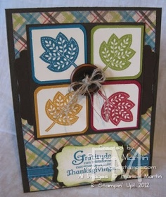 Stamp & Scrap with Frenchie: 4 corner with Days of Gratitude