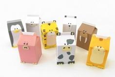 cute idea with old milk jugs