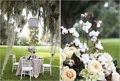 cotton, heart, peach weddings, wedding ideas, southern weddings