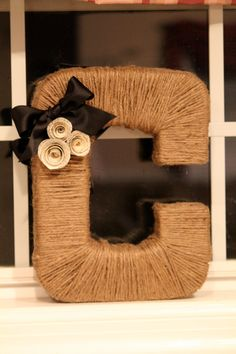 Monogram Wreath. $35,00, via Etsy.