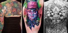Alice in Wonderland tattoo gallery alice-in-wonderland