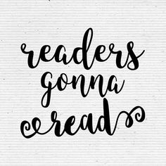 Readers Gonna Read C