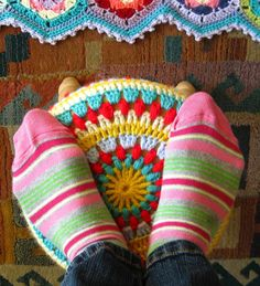 circle crochet pattern. Another great crochet blog.