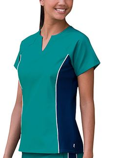 Love the sporty color combo! #scrubs #fashion #women