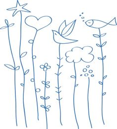 Sprouting Nature - Wall Decals