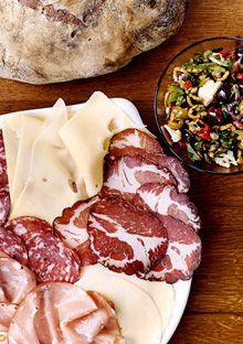 The Muffuletta Sandwich cutting boards, food recipes, gumbo, foods, epicuri, muffuletta sandwich, oliv, cookbooks, bowls