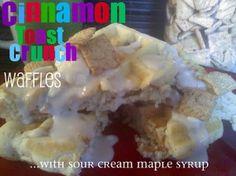 Cinnamon Toast Crunch Waffles...why not?