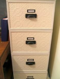 cabinet makeovers, craft, file cabinet, metal, the office, filing cabinets, cabinet redo, paint, home offices