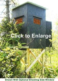 Free Homemade Box Deer Hunting Stand Building Plans
