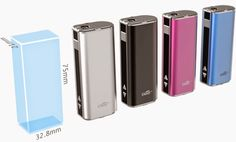 Vapor Joes - Daily Vaping Deals: THE VW ISTICK BY ELEAF - AMAZING LITTLE MOD - $34....