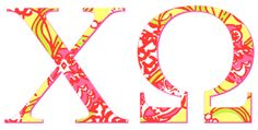 Chi Omega Lilly