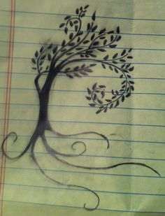 The Willow Tree Tattoo - The ability to adapt to life as a Willow can bend in many ways without breaking. That wisdom that comes with age, the willow represents the stability and strength of age and experience. I've always loved the meaning of this