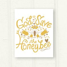 Image of God Save the Honeybee