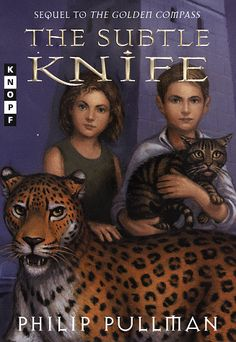 2nd in the series - Philip Pullman's 'His Dark Materials' The Subtle Knife