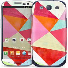 Melanie Mikecz - Pink Triangle - Galaxy S III | GelaSkins