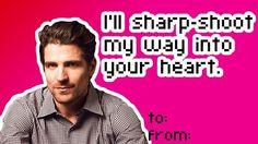 Hockey Valentines: I'll sharp-shoot my way into your heart.