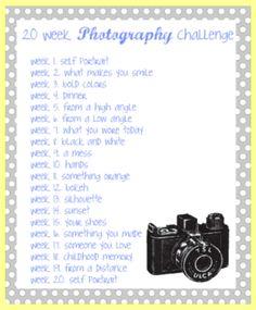 Photography Challenge