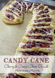 Candy Cane Danish #s