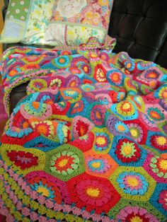 Ravelry hexagon blanket pattern