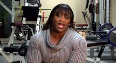 Female bodybuilder Kim Perez looks unbelievably huge as she thanks her fans for supporting her muscle journey