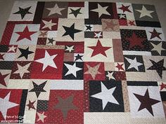 Beautiful Star Quilt - Buggy Barn quilt pattern