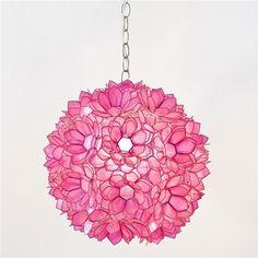 Venus Pendant Pink Light