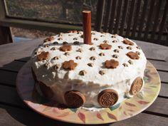 organic dog birthday cake