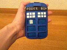 Funda Móvil Tardis goma eva + fieltro/ Tardis Mobile Case foam rubber + felt