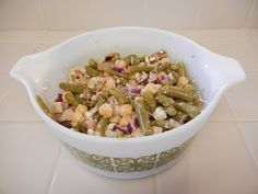 Shelly's Garbanzo and Green Bean Salad - This will be a summer staple