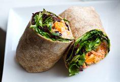vegan recipes, wrap recipes, tempeh, avocado, 10 vegan