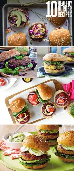 10 healthy burger re