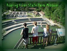 Roaring River Fish Hatchery and State Park, Missouri