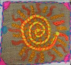 art project, grade lesson, elementari stitcheri, art lesson, kid art, elementari art, artlesson, fiber art, childhood art
