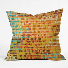 Khristian A Howell Bangalore Warm Throw Pillow | DENY Designs Home Accessories