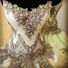"""Ornate Ballet Costume"" shoot, turn it into a wedding dress please"