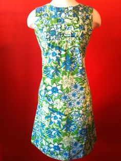 vintage Lilly Pulitzer dress.