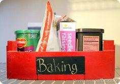 Clementine Box into Pantry Storage