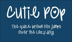 30 Free Cute Girly Fonts