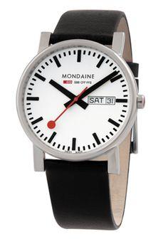Mondaine EVO with date.