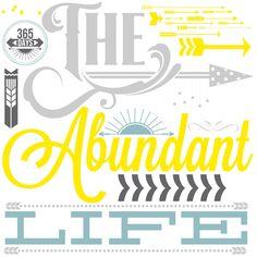 The Abundant Life {Printable}