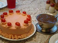 "April Fools  Day Meat Loaf ""cake"""