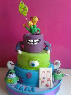Cakes #monster#cake