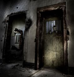 . creepi, haunt, the doors, forgotten place, grave place, dark, denbigh, decay forgotten, abandon asylum