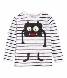 H&M T-shirt à manches longues 5,95$