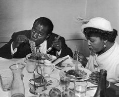 Red Beans And Ricely Yours: The Culinary Habits Of Louis Armstrong