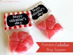 Salt and Pepper Moms: Free Printable Valentine Treat Bag Toppers