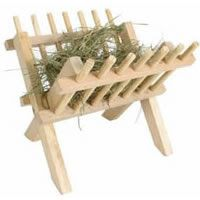 Hay in a Manger for Jesus [tradition]