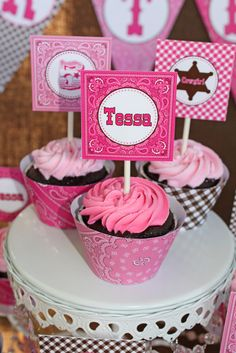 Tessa's Cowgirl Party | CatchMyParty.com