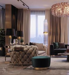 Check our selection of luxury lighting fixtures to get inspired and get the best decor ideas you for your next interior design project at luxxu.net #livingroom #luxury #luxuryfurniture #interiordesign #interiordesignideas #lighting #lightingdesign #homedecor #decor