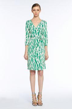 dress sassysummerstyl, wrap dresses, fashion, dvf wrap